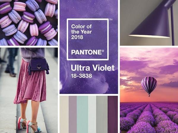 Ultra violet el color del año 2018