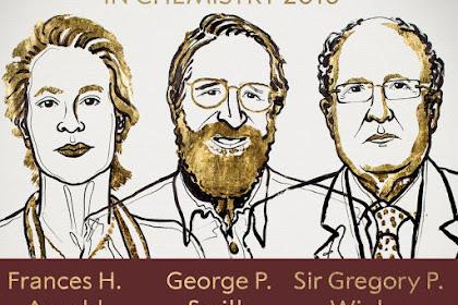 Nobel Kimia 2018: Evolusi Sel dan Enzim