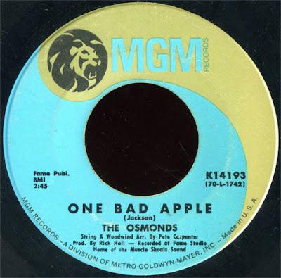 The Osmonds ‎– One Bad Apple
