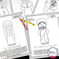Saint Coloring Book