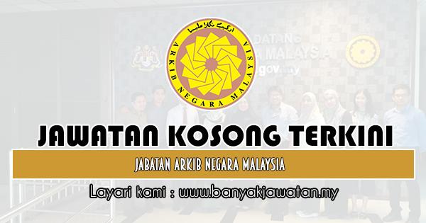 Jawatan Kosong Kerajaan 2019 di Jabatan Arkib Negara Malaysia