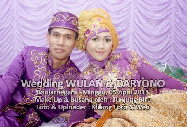 Wedding / Pernikahan : WULAN & DARYONO - 05 April 2015 siap diakses, di unduh dan dipasang di Android Anda