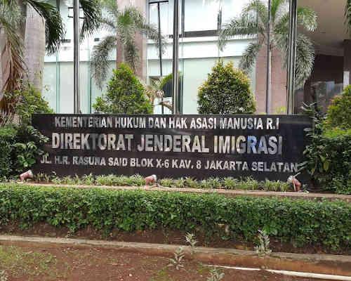 Alamat Telepon Direktorat Jenderal Imigrasi Pusat Jakarta