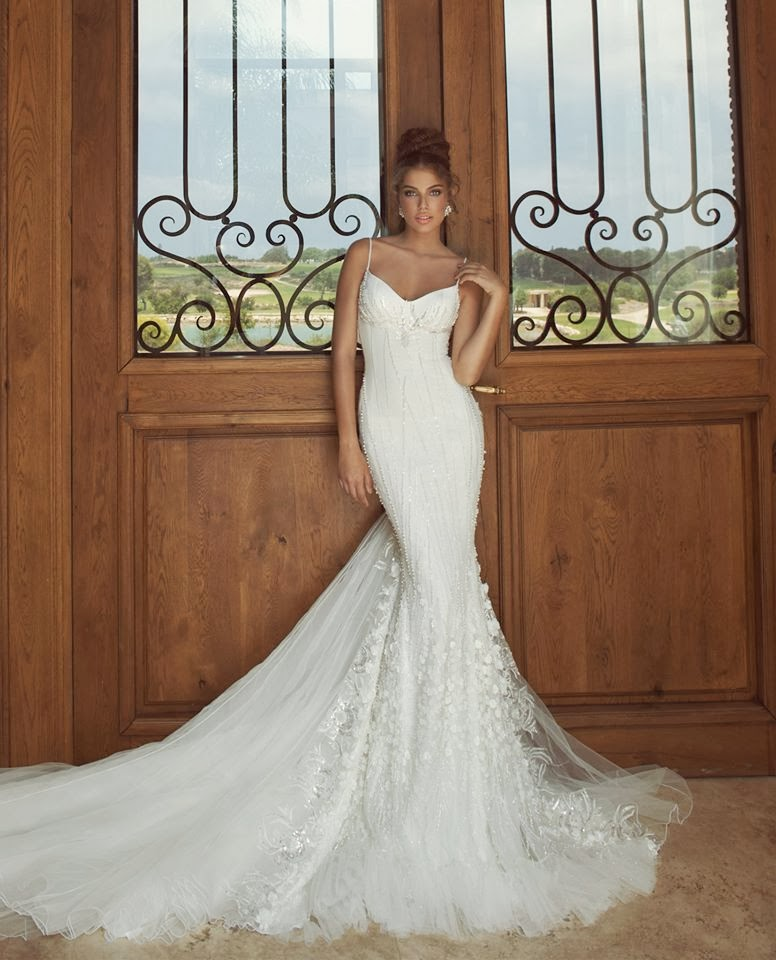 0c90299d858c Galia Lahav : The Empress Deck Bridal Collection 2014 - Celebrity ...