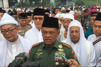HEBOH! Panglima TNI: Memburu ISIS Itu Bohong, Tujuan Mencari Minyak!