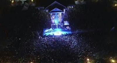 Fans Fildan Saat Konser Di Kab. Banggai Laut