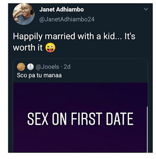 Intimate Talks: Lady Who Had Sex On First Date Says She Is Now Happily Married With A Child