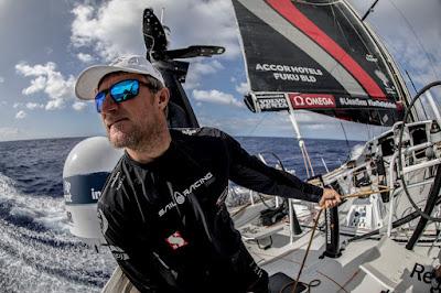 John Fisher, porté disparu sur la Volvo Ocean Race 2018
