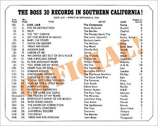 KHJ Boss 30 No. 10 - September 8, 1965