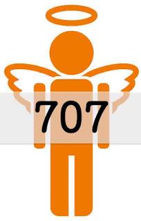 エンジェルナンバー 707
