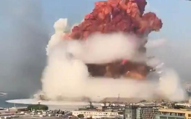 Pemimpin Syiah Hizbullah Harus Bertanggungjawab Atas Ledakan Dahsyat Beirut