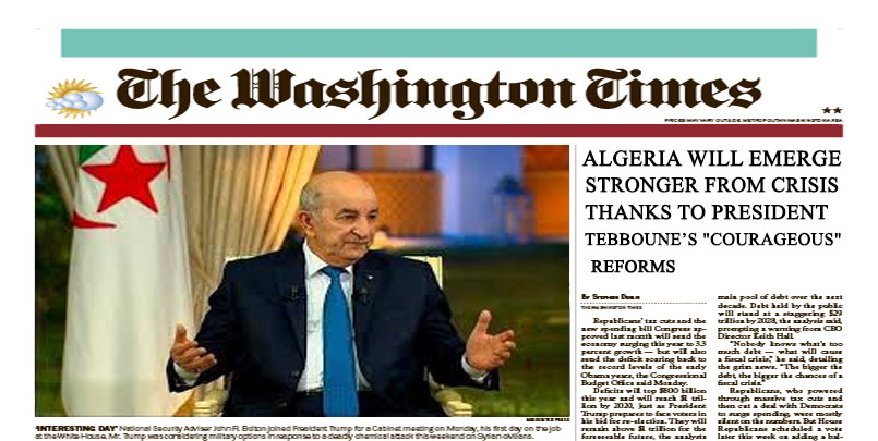 washington times algeria