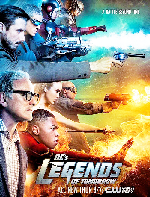 Legends of Tomorrow Serie Completa Dual Latino/Ingles 1080p/720p
