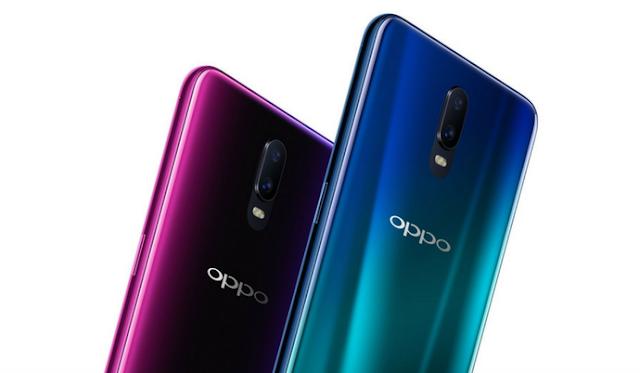 OPPO R17 Qualcomm Snapdragon 670 SoC or In-Display fingerprint sensor ke sath aaj launch hua.