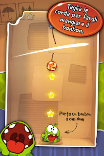 -GAME-Cut the Rope si aggiorna alla vers 1.7.1