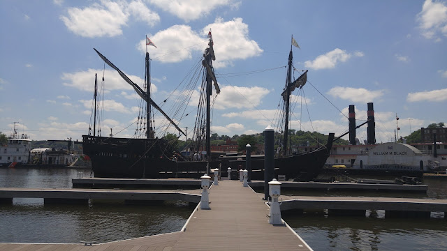The Pinta broadside