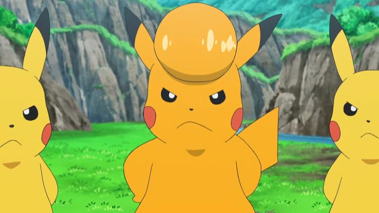 Pikachu Shiny Anime Pokémon