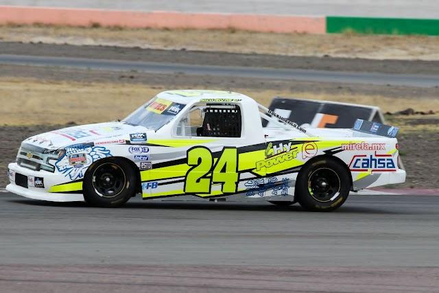 Nico Rivas listo para ganar en Mikels Trucks