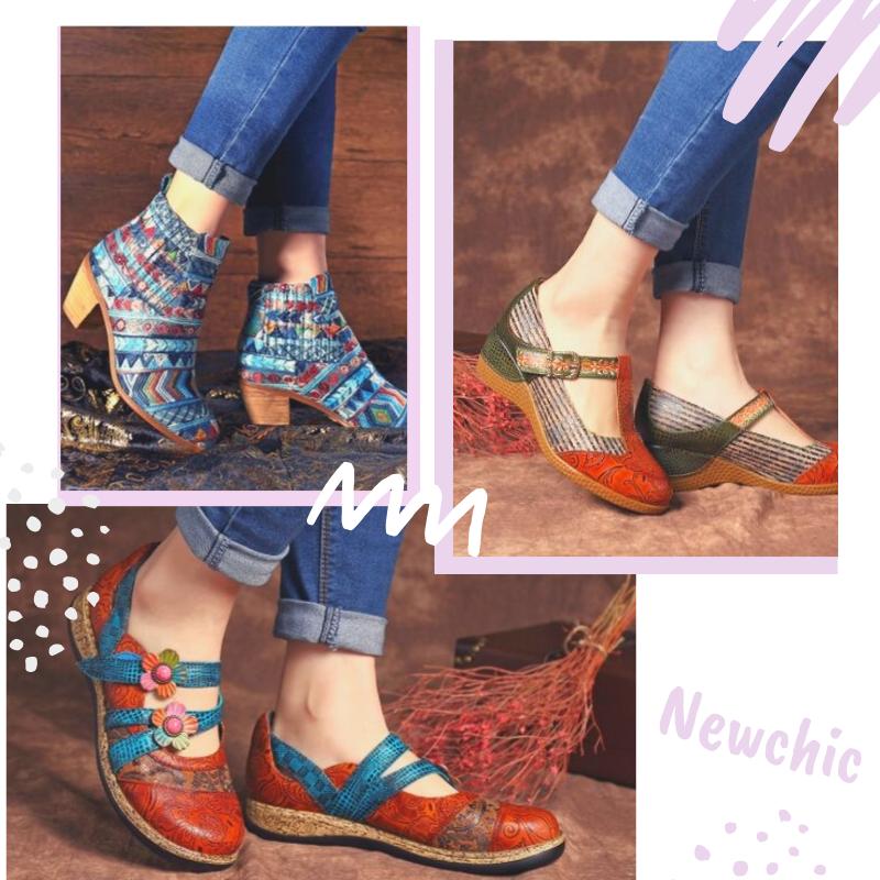 Sapatos Bohemian