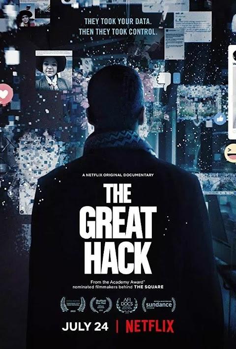 The Great Hack (2019) English 480p & 720p WEB-DL | Netflix Documentary