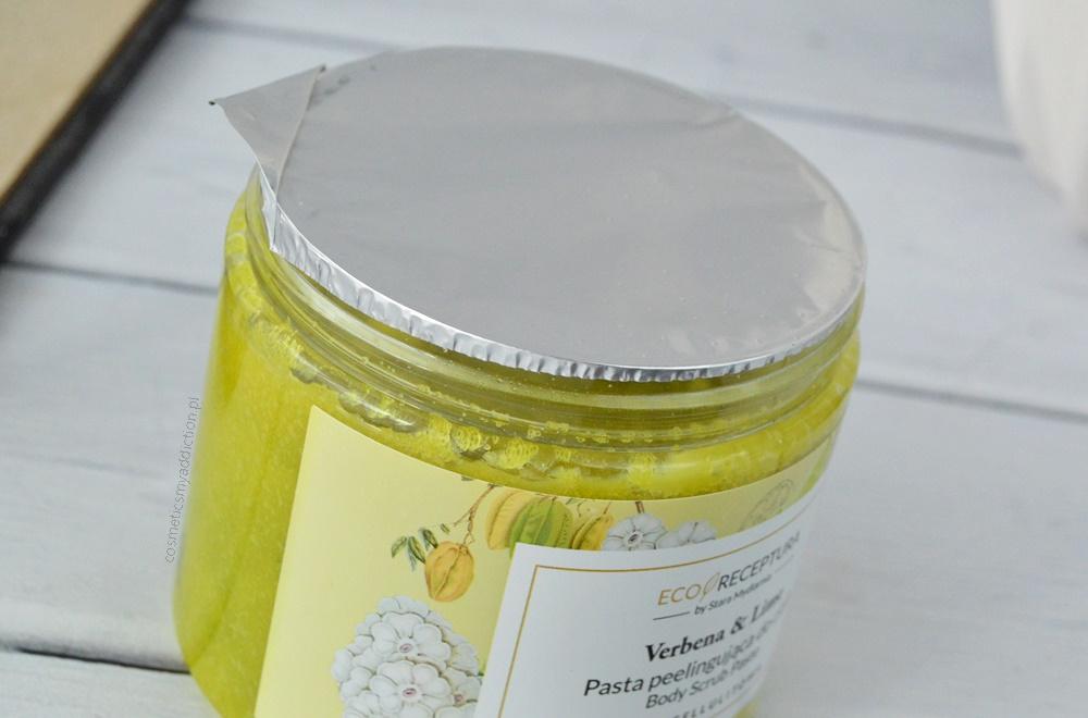 Pasta peelingująca do ciała - Verbena & Lime - Eco Receptura by Stara Mydlarnia