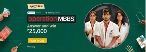 The 'Operation MBBS' chronicles the life of____?