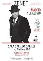 Concierto de Zanet en Sala Galileo
