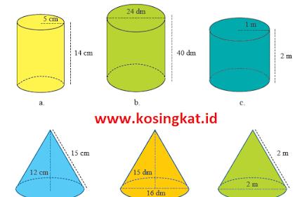 Kunci Jawaban Matematika Kelas 9 Halaman 307 - 313 Uji Kompetensi 5