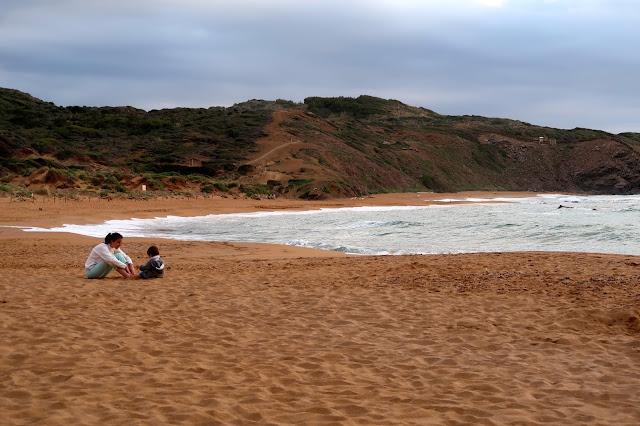 playa cavalleria Menorca a golpe de objetivo