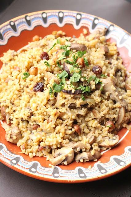 pilaf boulghour recette