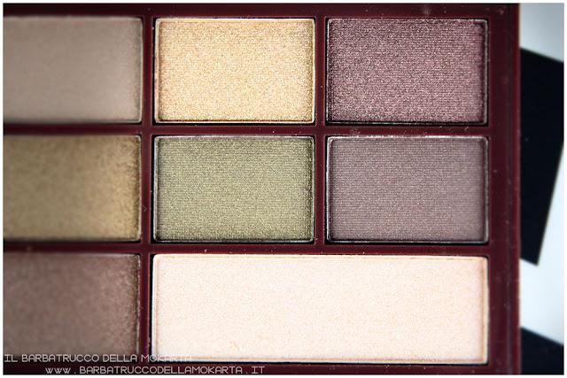 golden Bar makeup revolution palette choccolate review