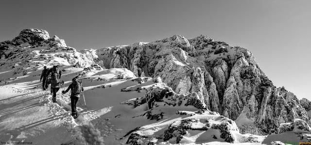 A un paso de la cima del Toubkal