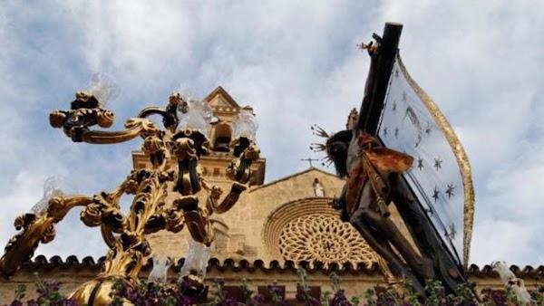 El Cristo de la Oración y la Caridad de Electromecánicas, que irá acompañado por un coro en el traslado a la Exposición Magna de Cördoba