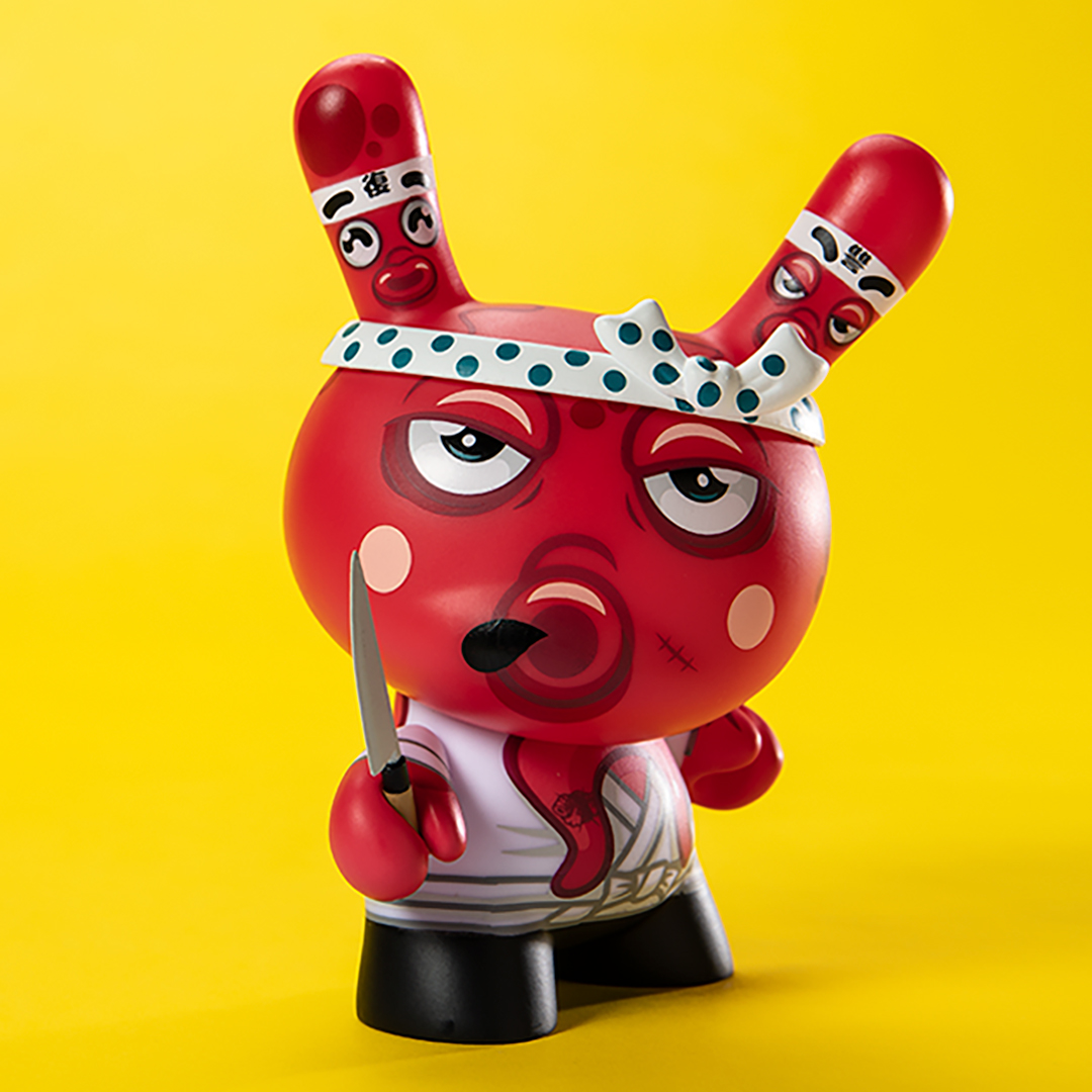 "The Blot Says   : Tako's Revenge 5"" Dunny Vinyl Figure by"
