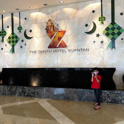Pengalaman Menginap Di The Zenith Kuantan