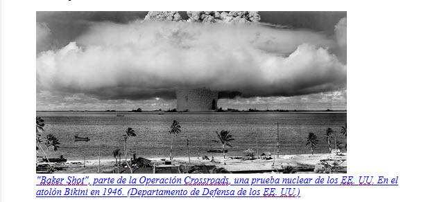 """""""Otro Hiroshima está llegando a menos que lo detengamos ahora"""""""