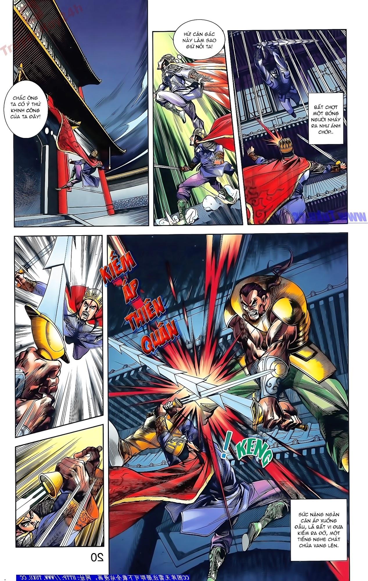 Tần Vương Doanh Chính chapter 48 trang 6