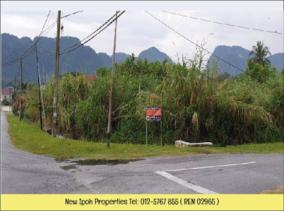 IPOH TAMBUN CORNER LOT HOUSING LAND FOR SALE ( L00634 ) - RM287K ( NEG )