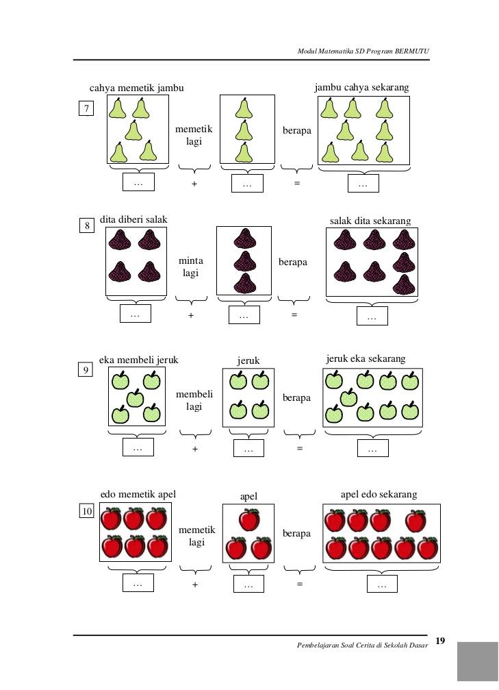 Kunci jawaban ini sesuai dengan soal dalam buku tematik kelas 4 sd/mi tema 1. Soal Matematika Anak TK Dan Kunci Jawaban 2019
