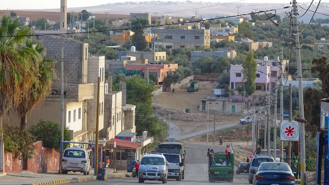 Village somewhere around Dhiban