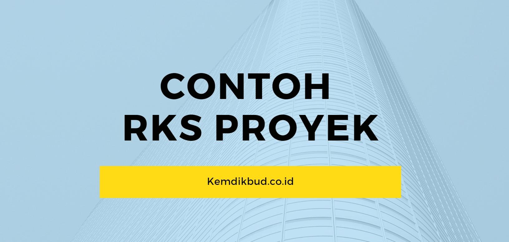 contoh dokumen rks proyek