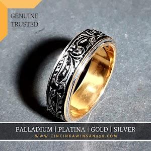 cincin kawin palladium custom 525pd