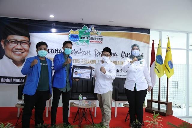 PMII Provinsi Lampung Diberi Semangat Oleh Ketua Majelis PMII Abdul Muhaimin Iskandar