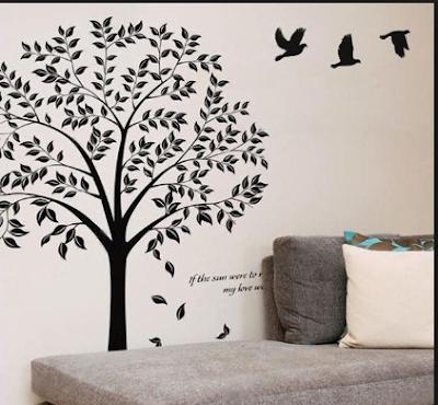Inspirasi Desain Kamar Tidur  Dengan Nuansa Pepohonan Yang Adem Dan Asri 9