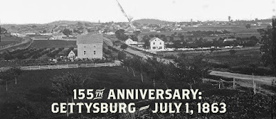 The Battle Begins: 155 Years to the Day Since Gettysburg