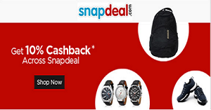 snapdeal cashback offers summer exiting sale tricksstore