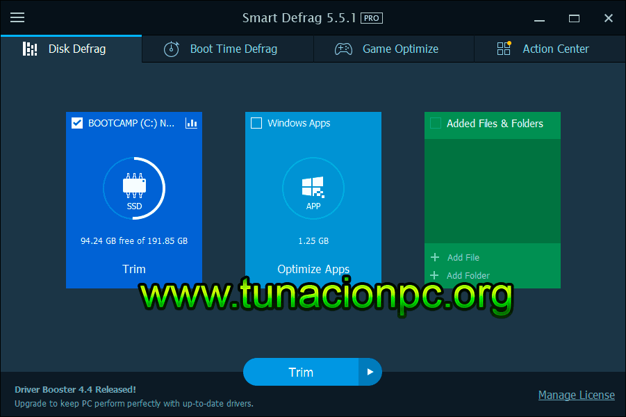 IObit Smart Defrag Pro Final