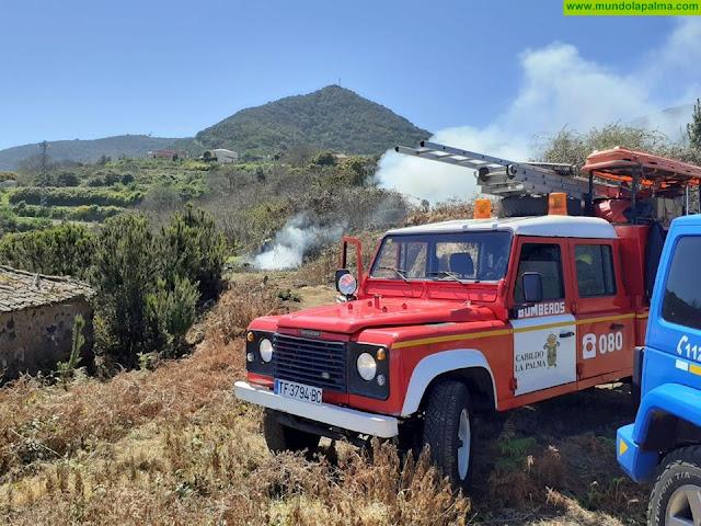Conato de incendio ayer en Puntallana