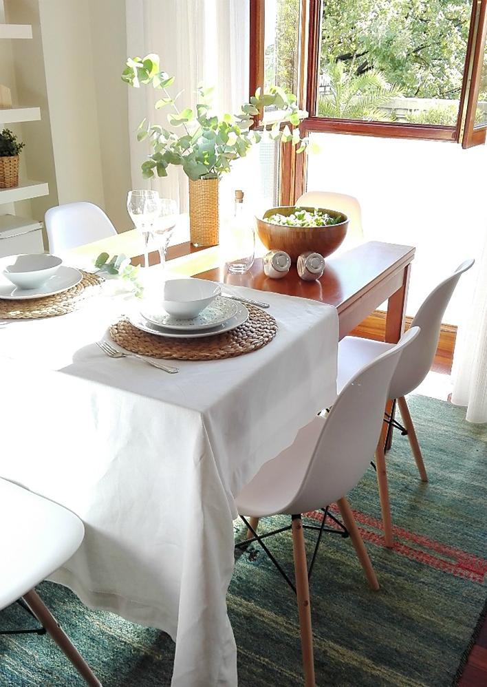 Antes y despu s de mi comedor con sillas nuevas decoracion for Sillas comedor nuevas