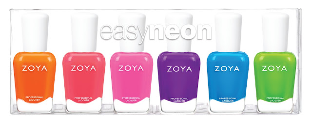 Zoya - Easy Neon Collection